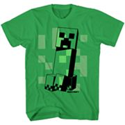Boys 8-20 Minecraft Creeper Tee