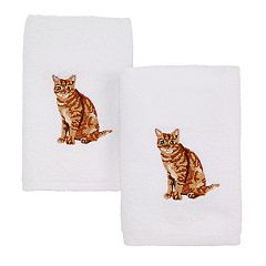 Avanti 2-pack Cat Hand Towel Set