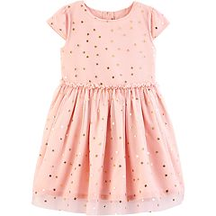 Toddler Girl Carter's Star Tulle Dress