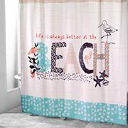 Avanti Beach Life Shower Curtain