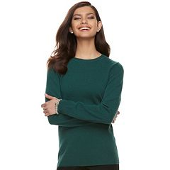 Women's Apt. 9® Cashmere Crewneck Sweater