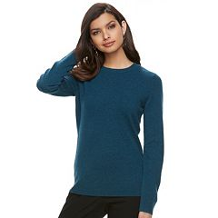Women's Apt. 9® Cashmere Crewneck Sweater