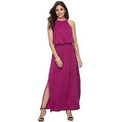 Women's Apt. 9® Strappy Blouson Maxi Dress