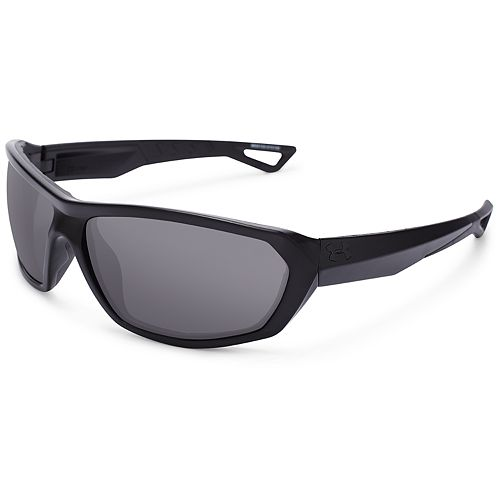 4e2f08c8c0 Men s Under Armour Rage Black Square Sunglasses
