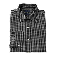 Men's Croft & Barrow® Slim-Fit Easy Care Spread-Collar Dress Shirt