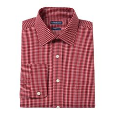 Men's Croft & Barrow® Slim-Fit Easy Care Spread-Collar Dress Shirt