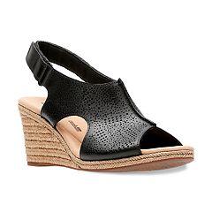 Clarks Lafley Rosen Women's Ortholite Wedge Heels