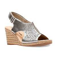 Clarks Lafley Rosen Women's Ortholite Wedge Heels