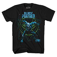 Boys 8-20 Black Panther Tee