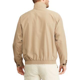Big & Tall Chaps Twill Full-Zip Jacket