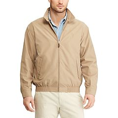 Big & Tall Chaps Twill Full-Zip Jacket