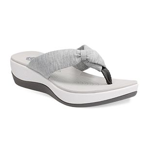 daa3c177c86 Clarks Cloudsteppers June Reef Women s Flip Flop Sandals. Sale