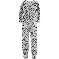 Girls 4-14 Carter's Printed Microfleece Coveralls