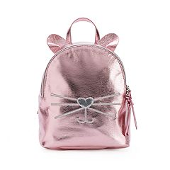 T-Shirt & Jeans Metallic Cat Backpack