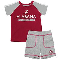 Baby Alabama Crimson Tide Tee & Shorts Set