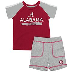 Baby Alabama Crimson Tide Tee & Shorts Set