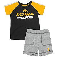 Baby Iowa Hawkeyes Tee & Shorts Set