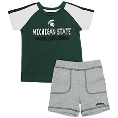Baby Michigan State Spartans Tee & Shorts Set