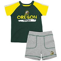 Baby Oregon Ducks Tee & Shorts Set
