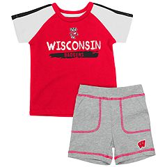 Baby Wisconsin Badgers Tee & Shorts Set