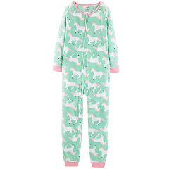 Girls 4-14 Carter's Microfleece Printed Coveralls