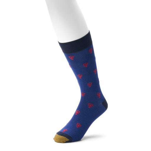 Men's GOLDTOE 1-pack Fresh Care Crew Socks