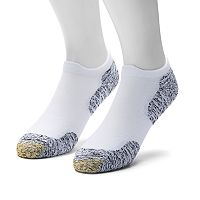 Men's GOLDTOE 2-pack Sta-Cool XS Double Eagle Tab No-Show Socks