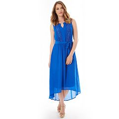 Women's Apt. 9® Embroidered High-Low Dress