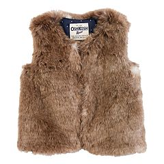 Toddler Girl OshKosh B'gosh Faux-Fur Vest