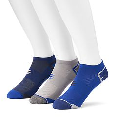 Men's PowerSox 3-pack Tech Series Tactel No-Show Socks