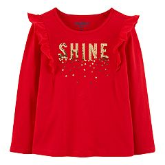 Toddler Girl OshKosh B'gosh® 'Shine' Sequin Graphic Tee