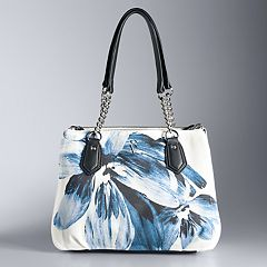 Simply Vera Vera Wang Bedford Triple-Entry Satchel