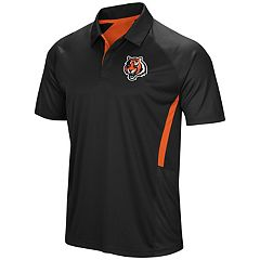 Men's Majestic Cincinnati Bengals Game Day Club Polo
