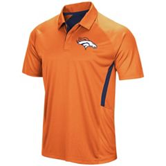 Men's Majestic Denver Broncos Game Day Club Polo