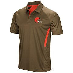 Men's Majestic Cleveland Browns Game Day Club Polo