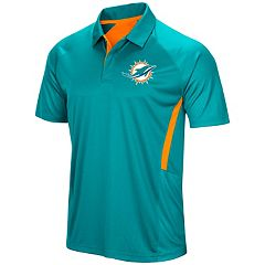 Men's Majestic Miami Dolphins Game Day Club Polo