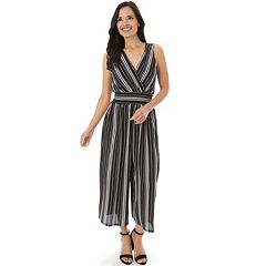 Women's Apt. 9® Striped Jumpsuit