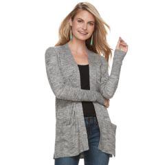 Womens Grey Sweaters Tops Clothing Kohls