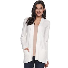 acf8eac40a Women s SONOMA Goods for Life™ Ribbed Cardigan