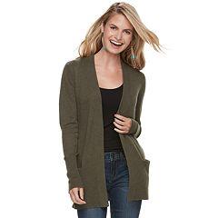 275f1f189c0f8 Womens Green Sweaters - Tops, Clothing | Kohl's