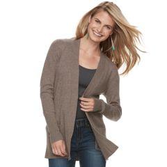 Womens Brown Sweaters Tops Clothing Kohls