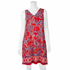 Women's Apt. 9® Paisley Swing Dress