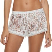 Women's Apt. 9® Lace Lingerie Sleep Shorts
