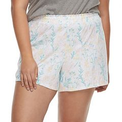 Plus Size Apt. 9® Pajama Shorts