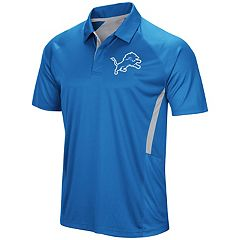 Men's Majestic Detroit Lions Game Day Club Polo