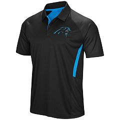 Men's Majestic Carolina Panthers Game Day Club Polo