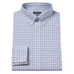 Men's Croft & Barrow® Easy-Care True Comfort Slim-Fit Stretch Dress Shirt