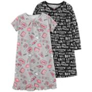 Girls 4-14 Carter's Nightgown Set