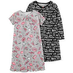 Girls 4-14 Carter's Nightgown Set