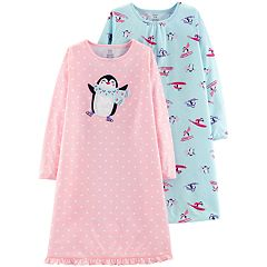 Girls 4-14 Carter's 2-pack Long Sleeve Nightgowns